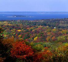 Autumn in Door County by ZombieEnnui