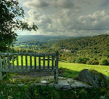 The Bench Up The Hill by VoluntaryRanger