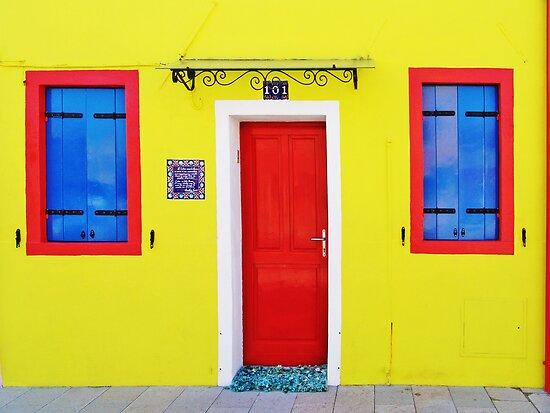 Burano - lemon yellow by Luisa Fumi
