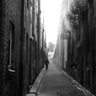 Lonely alley by Julie Sleeman