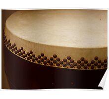 temple drum Poster