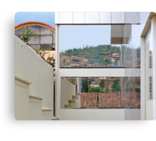 Reflections of The Hillside Canvas Print