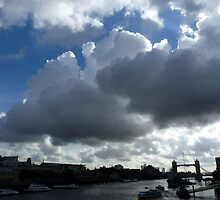 Tower Bridge skies by Adrian S. Lock