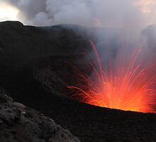 Mt Yasur Volcano by Matt Penfold