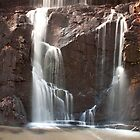 'Here it is again' - McKenzies Falls, The Grampians by Bronwyn Munro