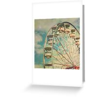 ferris wheel 1 Greeting Card