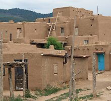Taos Pueblo by WolfPause