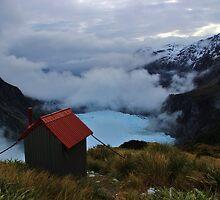 """chancellor hut""   fox glacier. west coast, new zealand by rina  thompson"