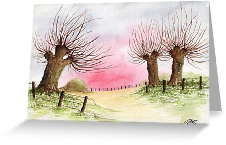 WILLOW TREES by RainbowArt