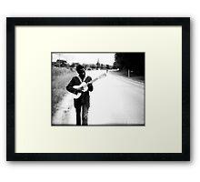 Biggie on the Road Framed Print
