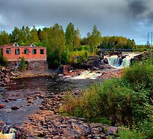 Waterfall Munkfors by Jo Nijenhuis