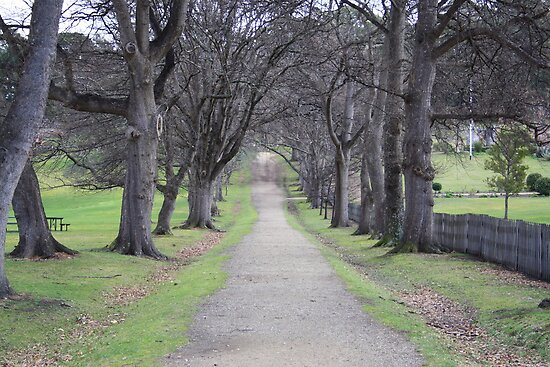 'The Long Road' - Port Arthur, Tasmania by sparkographic