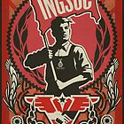 INGSOC 1984 Propaganda Poster by LibertyManiacs