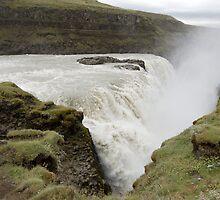 Icelandic waterfall by terjekj