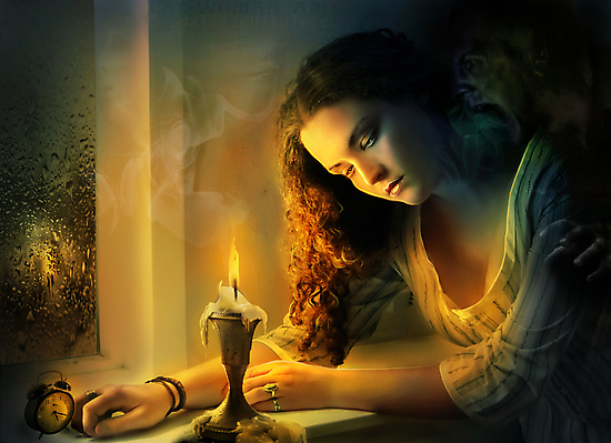 Ghost love story | Cadence of her last breath by Amalia Iuliana Chitulescu