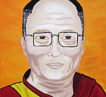 The Dali Lama by Adolph Hernandez