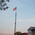 Evening Flagpole by Glasseye74