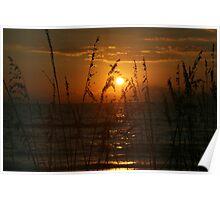 Naples Bay Sunset Poster