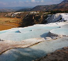 Pamukkale, Turkey by Deb Gibbons