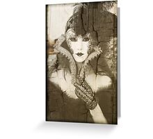 Maschera Veneziana Greeting Card
