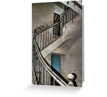 Old stair Greeting Card
