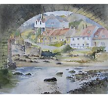 Sandsend under the Arches, Whitby Photographic Print
