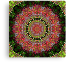 Virgo Mandala Canvas Print