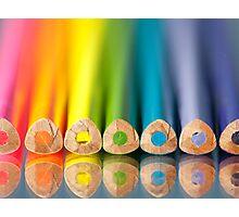Crayonbow Photographic Print
