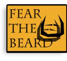 Fear The Bread Canvas Print