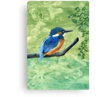 The Riverbank Canvas Print