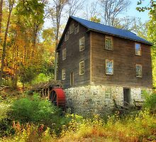 The Grist Mill At Millbrook Village by Pat Abbott