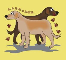 Labradors by Diana-Lee Saville