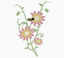 Little Bee .. an enchanting tee shirt by LoneAngel