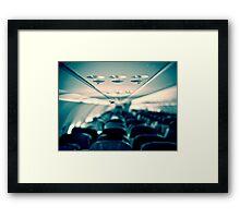 Flight in flight Framed Print