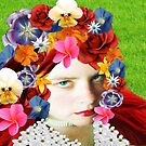 Flower Head by Penny Lewin - Hetherington