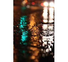 Street Water Photographic Print