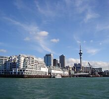 Auckland Skyline by claireandcoco