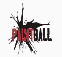Paintball Red-Black by Frank Primeau