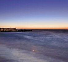 Trigg Beach At Dusk  by EOS20