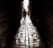 Old Town Alley by Mojca Savicki