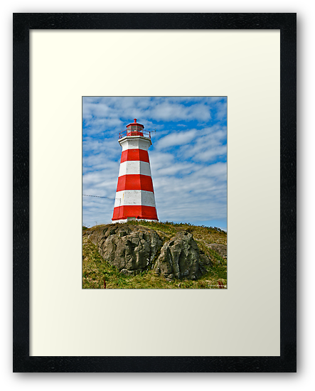 Brier Island (West) Lighthouse by David Davies