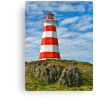 Brier Island (West) Lighthouse Canvas Print