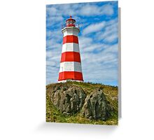 Brier Island (West) Lighthouse Greeting Card