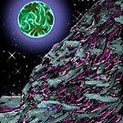 Atop the Second Moon of Thata-Zari by weirdpuckett
