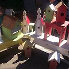 Birdhouses by Dan McKenzie