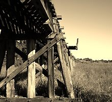 Dead Tracks in Air......... Eltham NSW by BK Photography