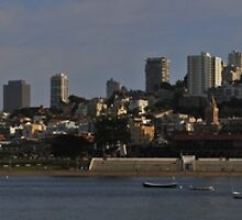 San Francisco Skyline from Aquatic Park by fototaker