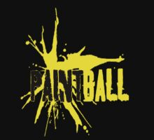 Paintball Yellow-Black by Frank Primeau