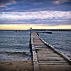 Busselton in winter by David  Pemberton