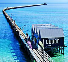 Busselton Jetty by Julia Harwood